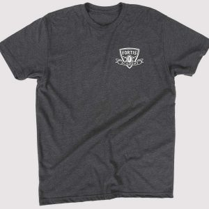 Charcoal Strength of the Pack Tee